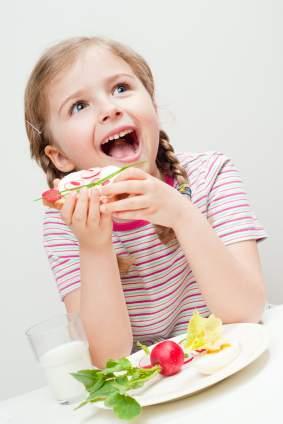 Vegeterijanska ishrana za decu