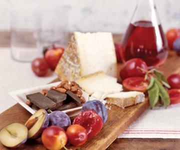 svapski sir i sljive